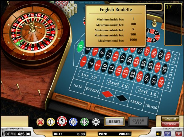 Come & Play French Roulette