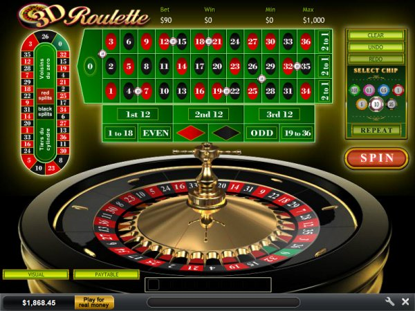 Come & Play 3D Roulette