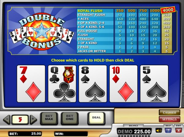 online casino signup bonus poker 4 of a kind