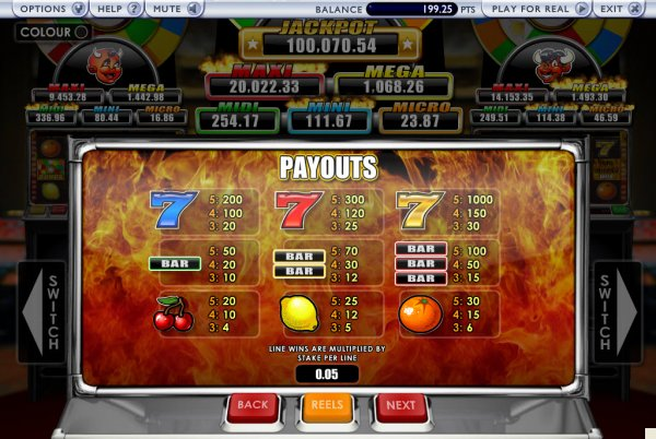 Triple Inferno Slots - Free to Play Online Casino Game