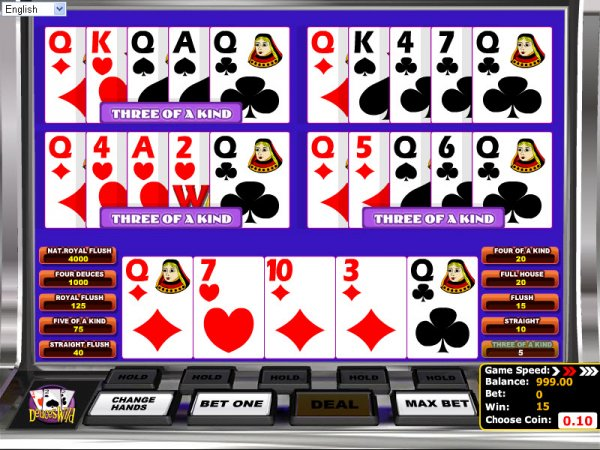 Wild Heart Video Poker - Read the Review and Play for Free