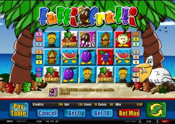 tutti frutti games online