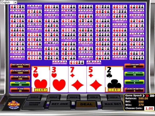 online casino games reviews american poker 2 online