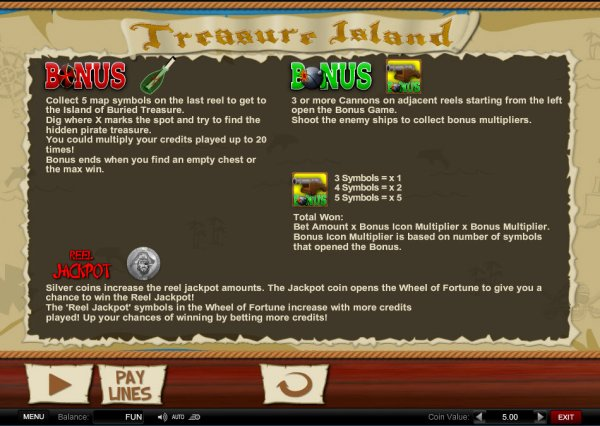 Treasure island mn slot payout