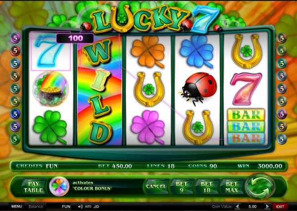 free slot games lucky 7