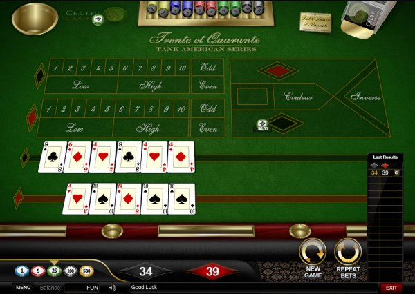 Trente et Quarante | All the action from the casino floor: news, views and more