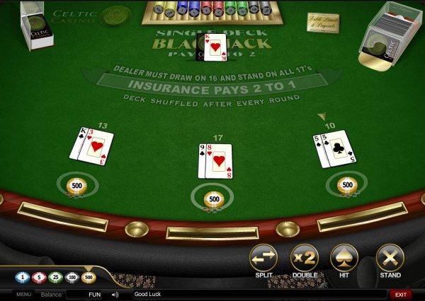 Illinois casino blackjack rules 10