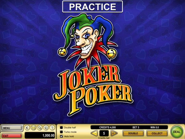 free joker poker games