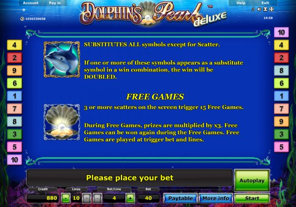 slots free games online dolphins pearl