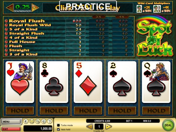 canadian online casino poker 4 of a kind