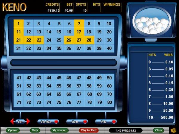 China keno : Gambling ky