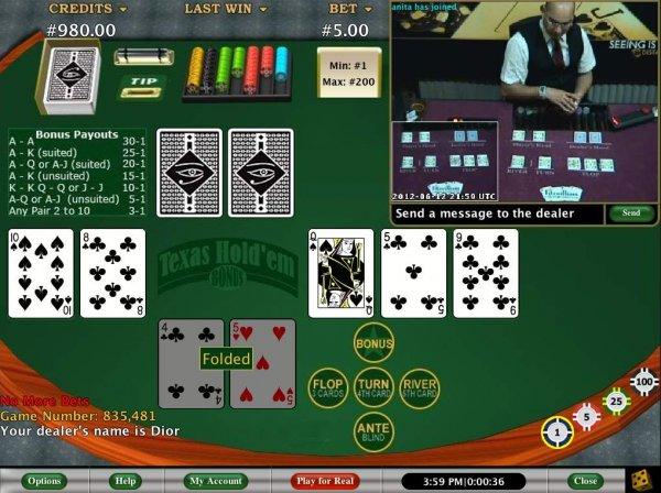 free poker practice