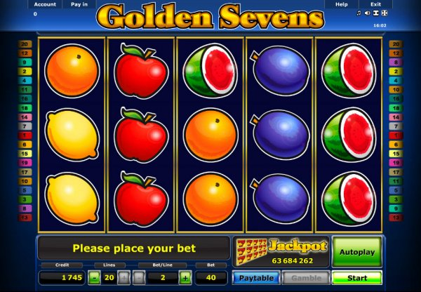 golden seven jackpot