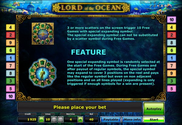 online gambling casino lord of the ocean kostenlos