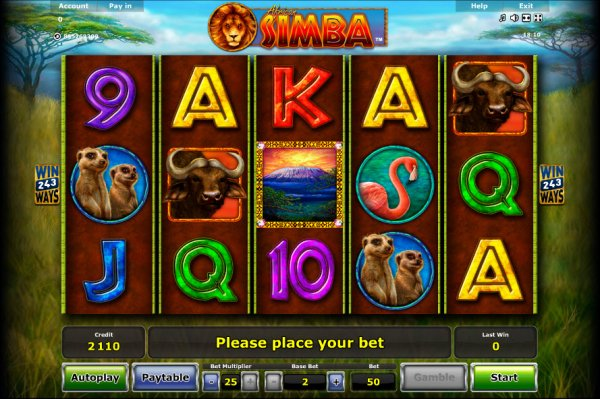 no deposit sign up bonus online casino simba spiele
