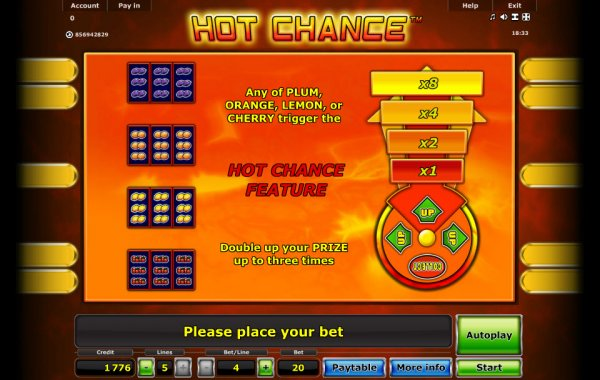 buy online casino sissling hot
