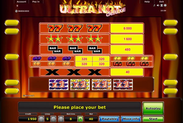 buy online casino sizzlig hot