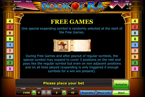 free online casino games book of ra game
