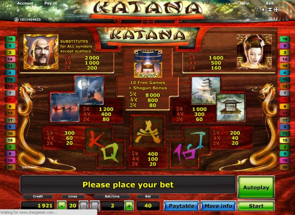 which online casino pays the best novomatic games