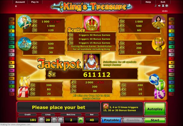 casino games online spielen king