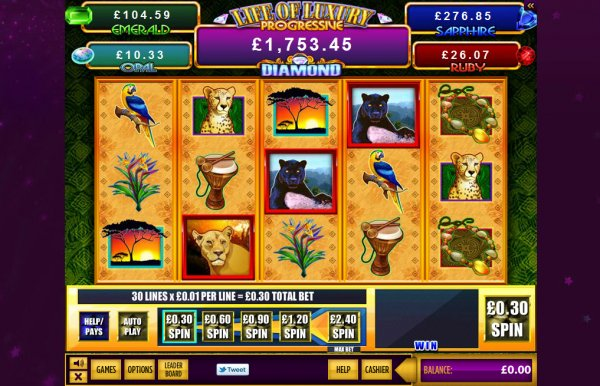 free slot games life of luxury