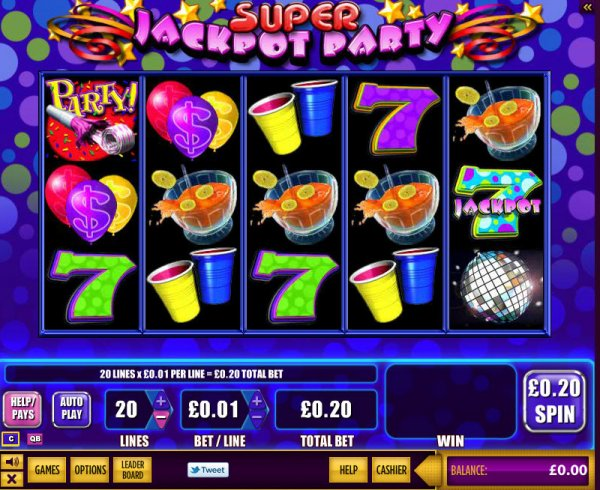 super jackpot party wms brings super jackpot party online with its 5