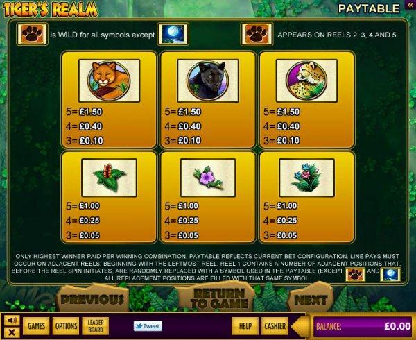 Tiger moon gratis slots