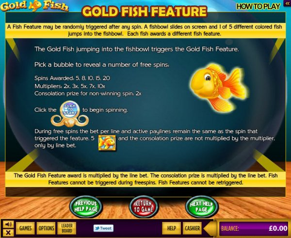 Gold Fish Feature