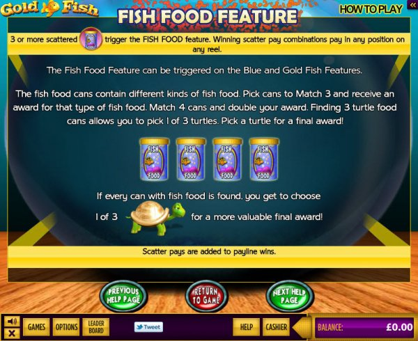 Fish Food Feature