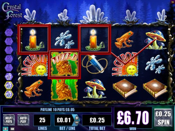 online casino 888 crystal forest