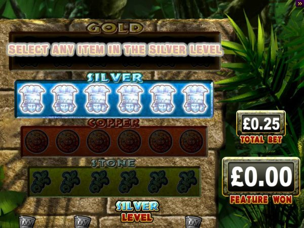 riches of the amazon slot game