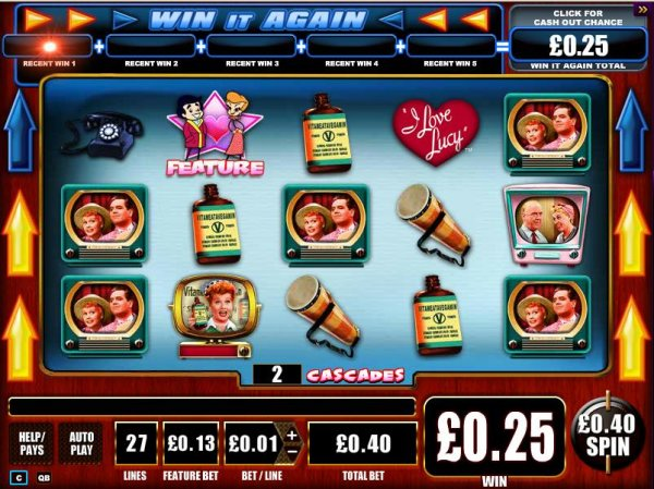 I Love Lucy™ Slot Machine Game to Play Free in WMS Gamings Online Casinos