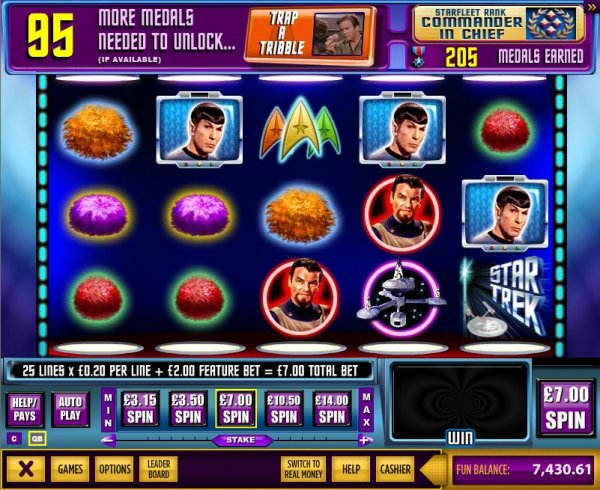 Star Trek Red Alert slot - Episode 1 fra WMS Gaming