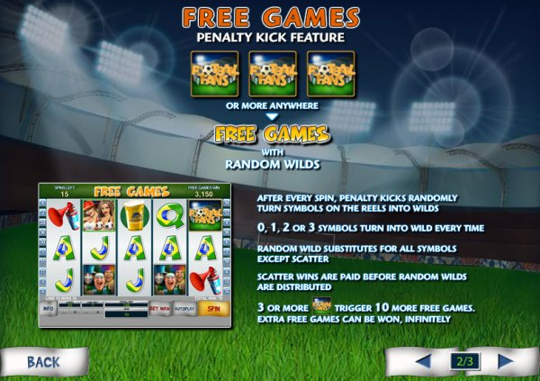 Play Football Fans Slots Online at Casino.com India