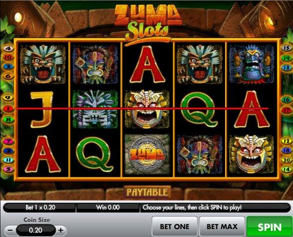 zuma slots games