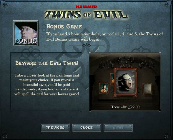 Twins of Evil™ Slot Machine Game to Play Free in Gamesyss Online Casinos