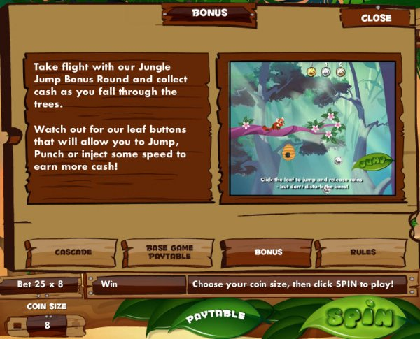 Jungle Jump™ Slot Machine Game to Play Free in Gamesyss Online Casinos