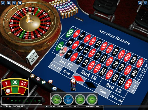 Odds of winning roulette twice in a row