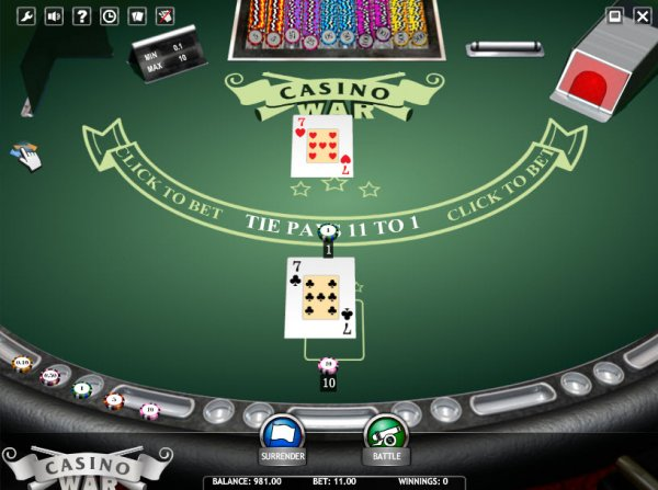 online casino wars australia