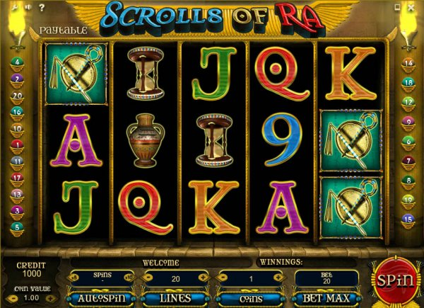 slots online games the symbol of ra