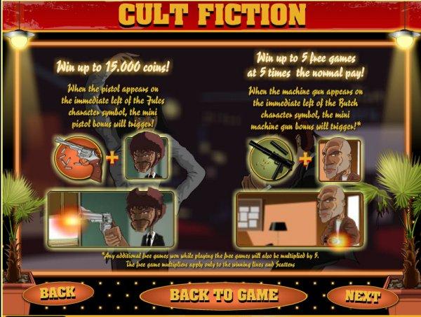 Cult Fiction Slot Machine - Play Free Casino Slot Games
