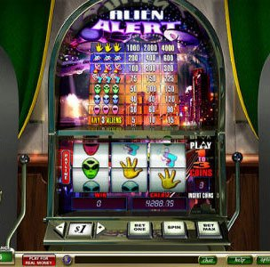 aliens slot machines software development