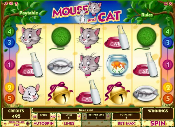 free casino games cats online