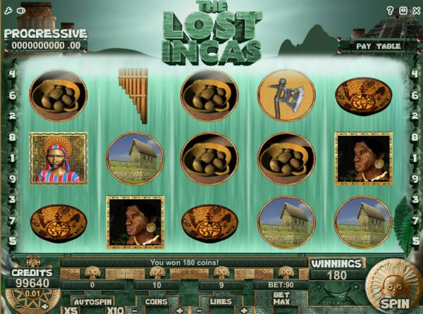 inca slot machine
