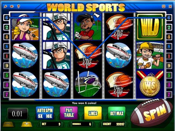 Sports Slot Machines