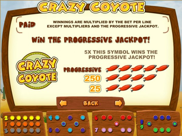 Crazy Coyote Slots - Free to Play Online Demo Game