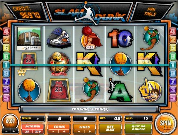 grand slam slot game