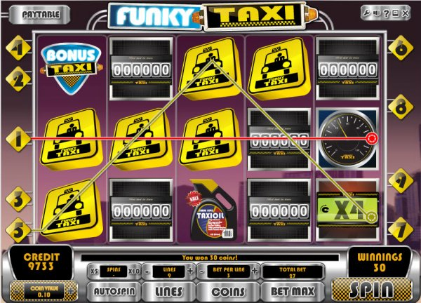 Funky Taxi Slot - Review & Play this Online Casino Game