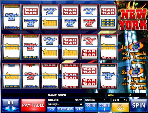 New York New York Slot Machine - Play with No Downloads