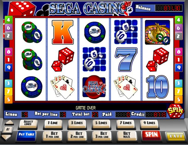 Sega casino game play free online video poker casino games